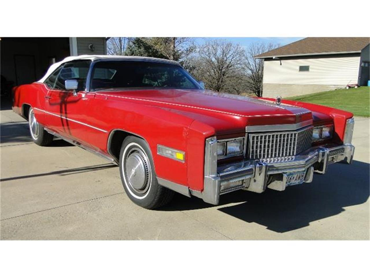 Large Picture of 1975 Cadillac Eldorado located in Minnesota - CXH4