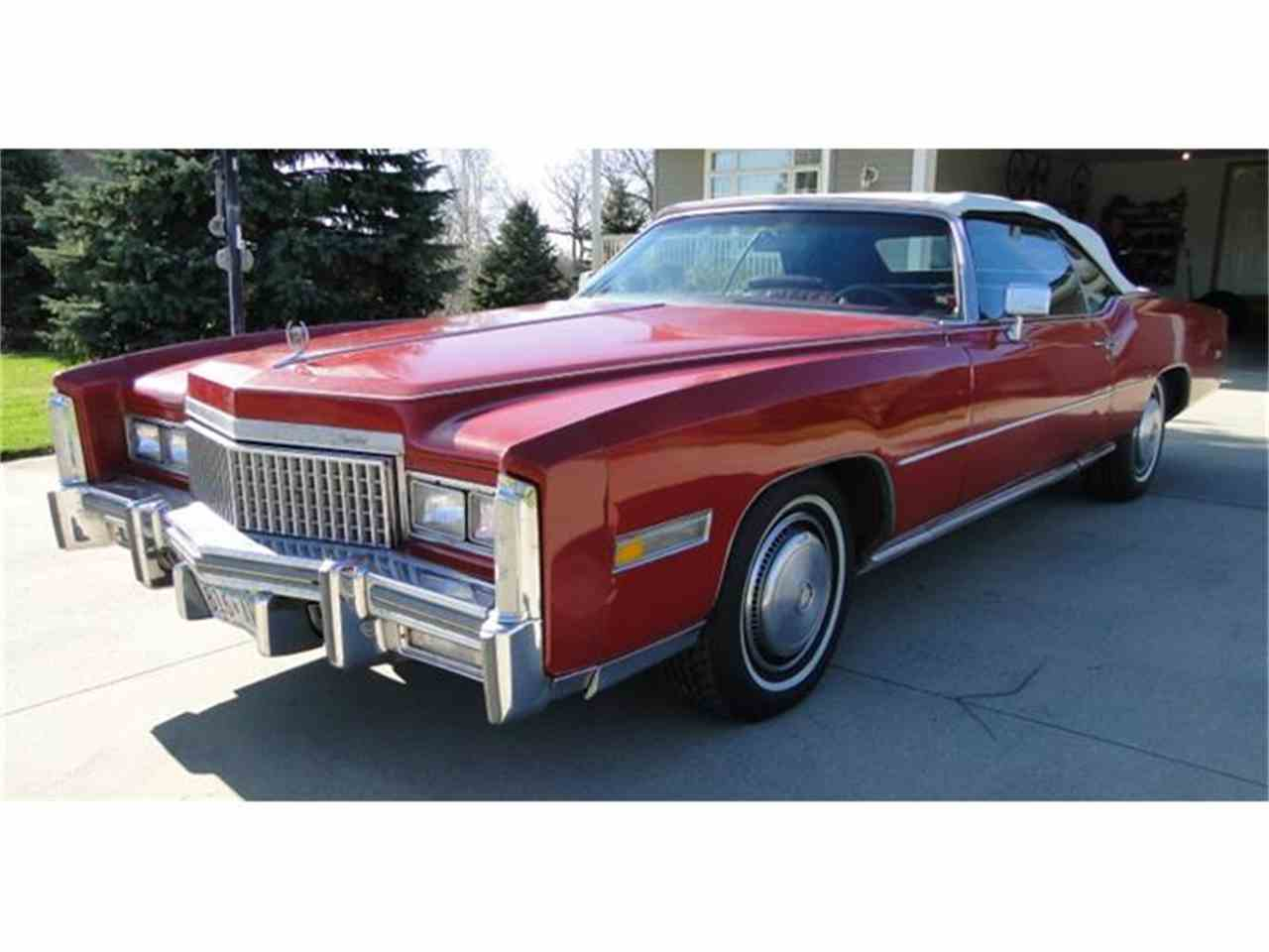 Large Picture of 1975 Cadillac Eldorado located in Minnesota - $9,500.00 Offered by Big R's Muscle Cars - CXH4