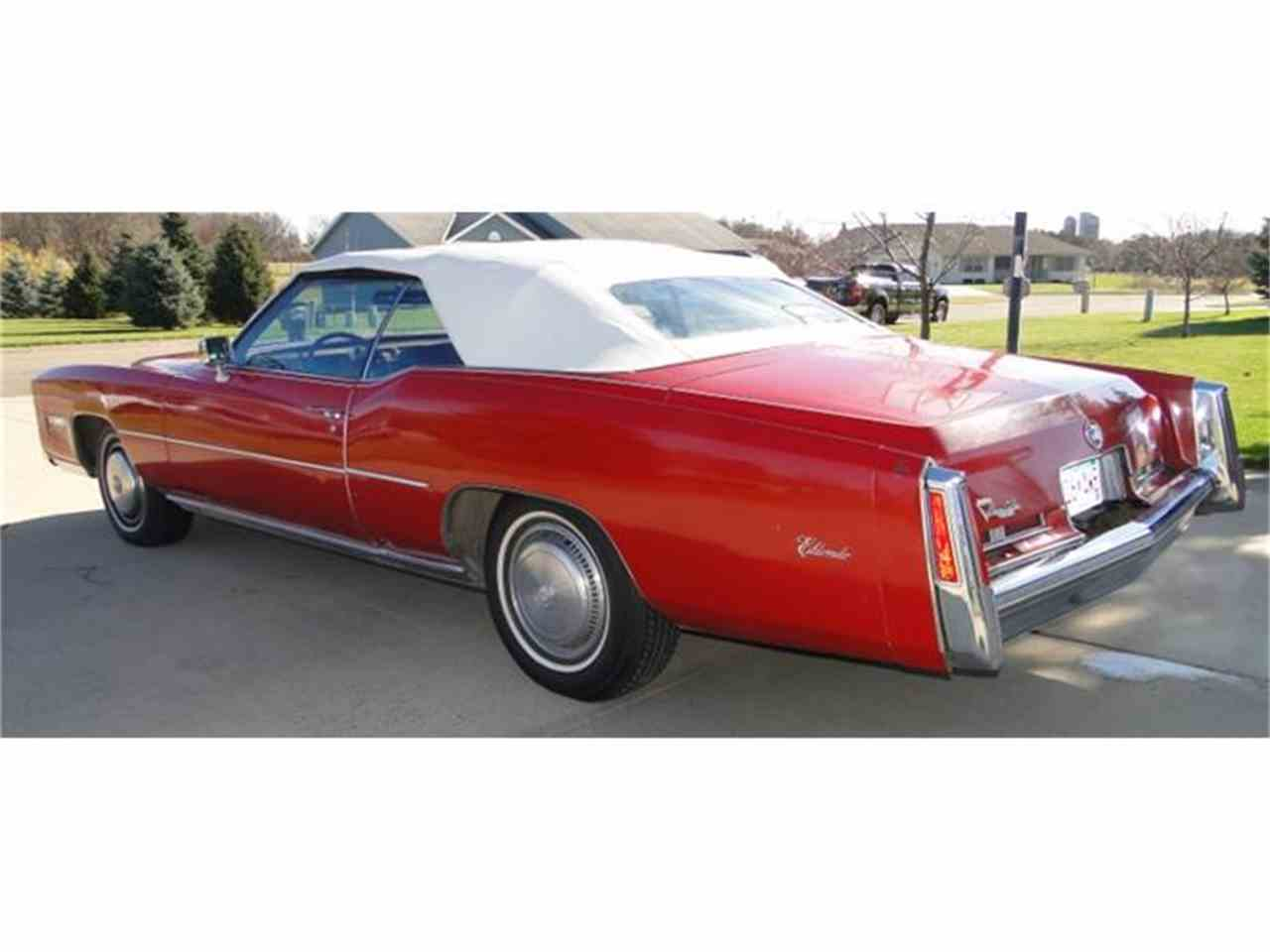 Large Picture of '75 Cadillac Eldorado located in Prior Lake Minnesota Offered by Big R's Muscle Cars - CXH4