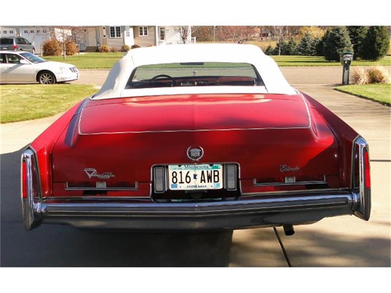 Large Picture of '75 Cadillac Eldorado located in Minnesota - $9,500.00 - CXH4