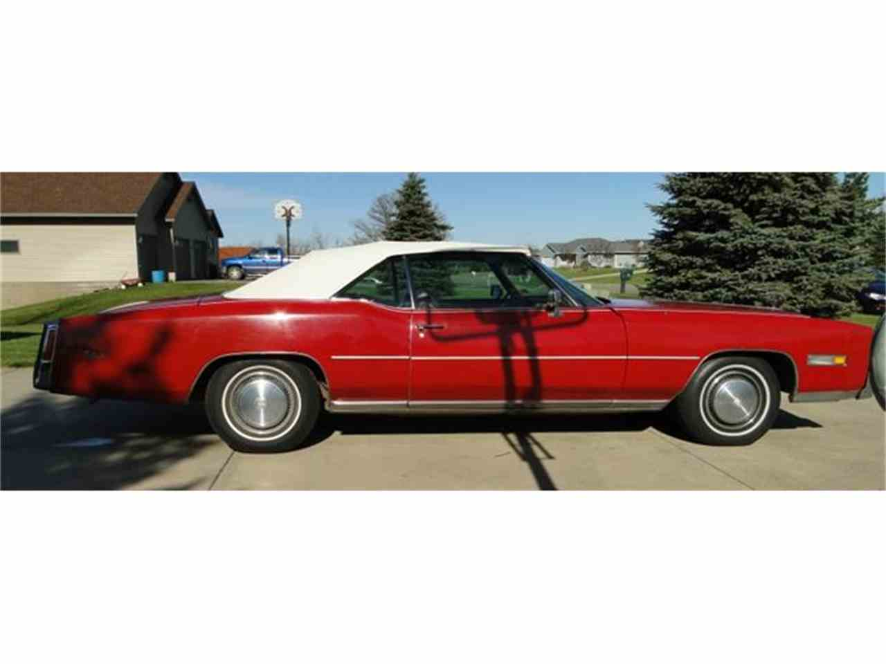 Large Picture of 1975 Eldorado located in Minnesota - $9,500.00 Offered by Big R's Muscle Cars - CXH4