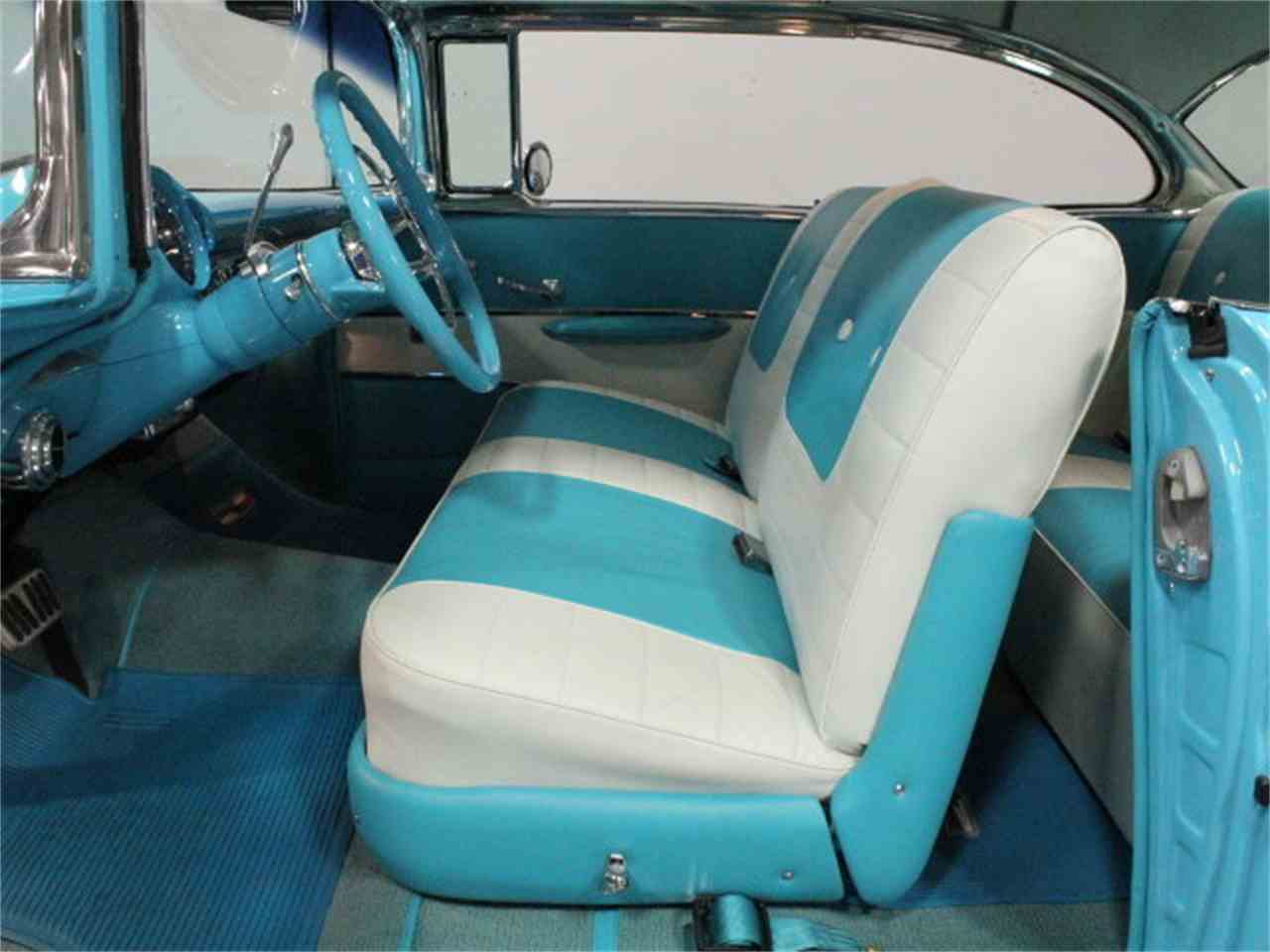 Large Picture of 1957 Chevrolet Bel Air located in Lithia Springs Georgia Offered by Streetside Classics - Atlanta - CVBZ