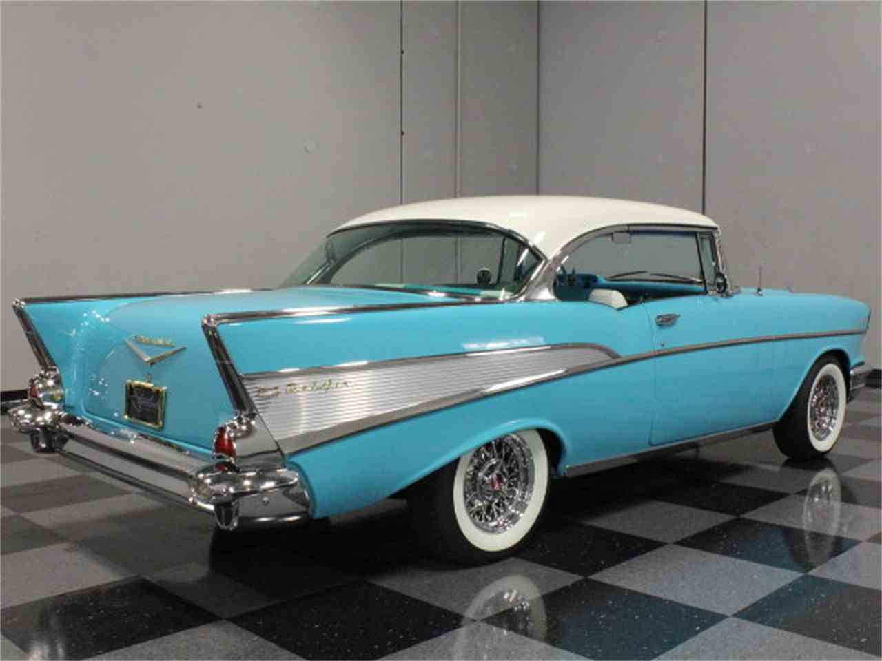 Large Picture of Classic 1957 Chevrolet Bel Air located in Georgia Offered by Streetside Classics - Atlanta - CVBZ