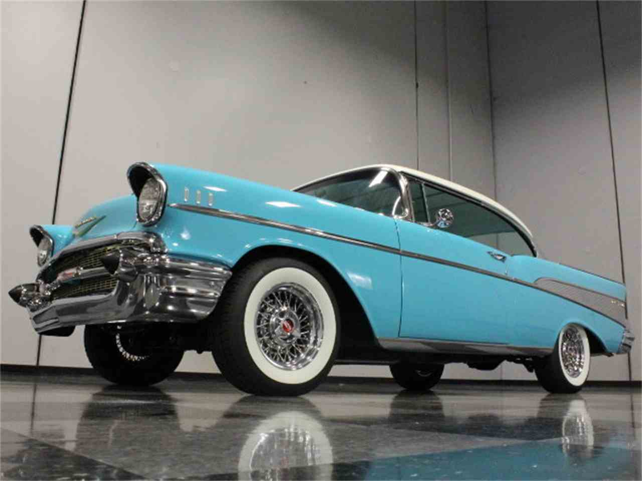 Large Picture of Classic '57 Bel Air located in Georgia Offered by Streetside Classics - Atlanta - CVBZ