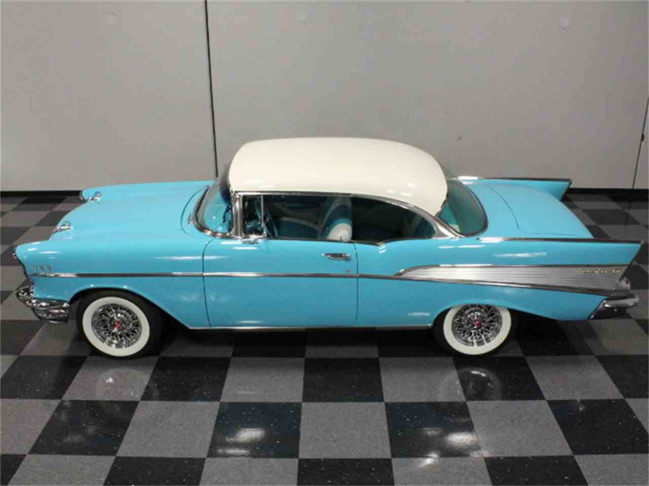 Large Picture of Classic '57 Chevrolet Bel Air located in Georgia - $79,995.00 Offered by Streetside Classics - Atlanta - CVBZ