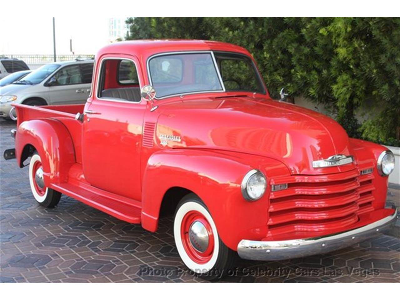 Large Picture of Classic 1950 3100 located in Las Vegas Nevada - $27,100.00 Offered by Celebrity Cars Las Vegas - CZHB
