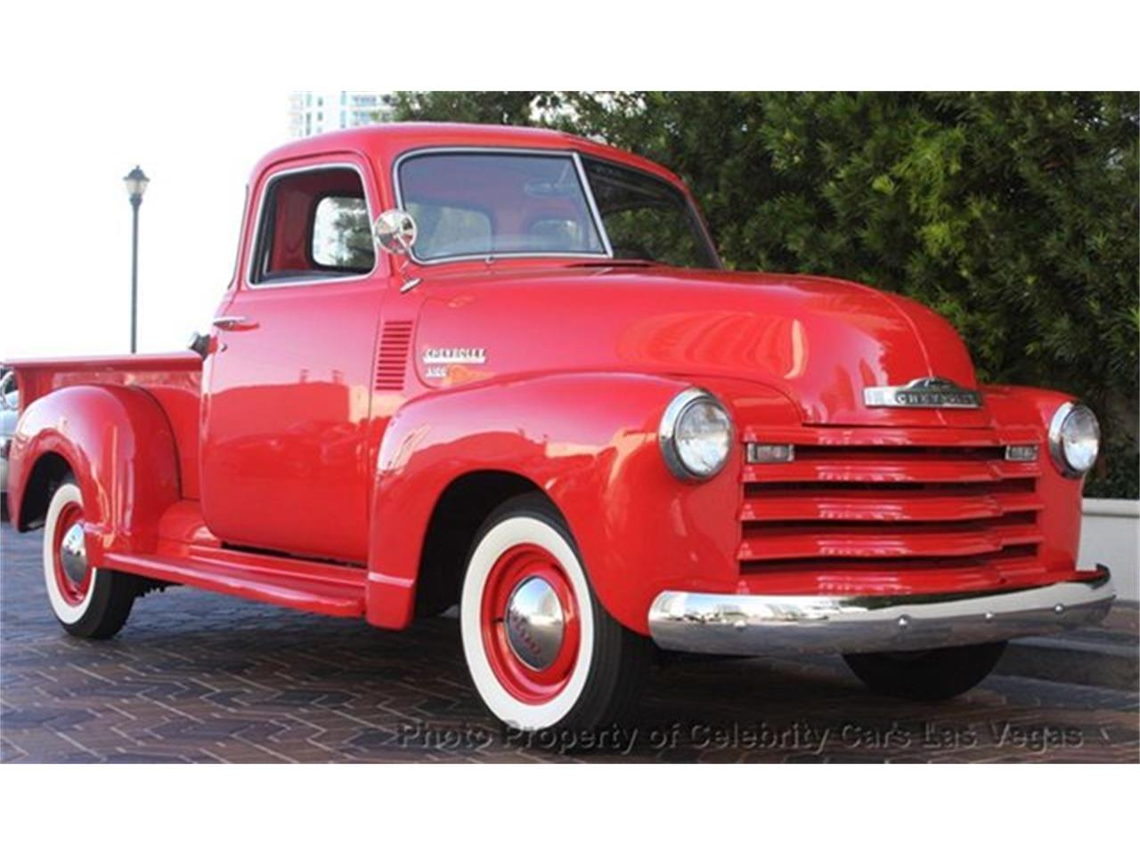 Large Picture of 1950 Chevrolet 3100 located in Las Vegas Nevada - $27,100.00 Offered by Celebrity Cars Las Vegas - CZHB
