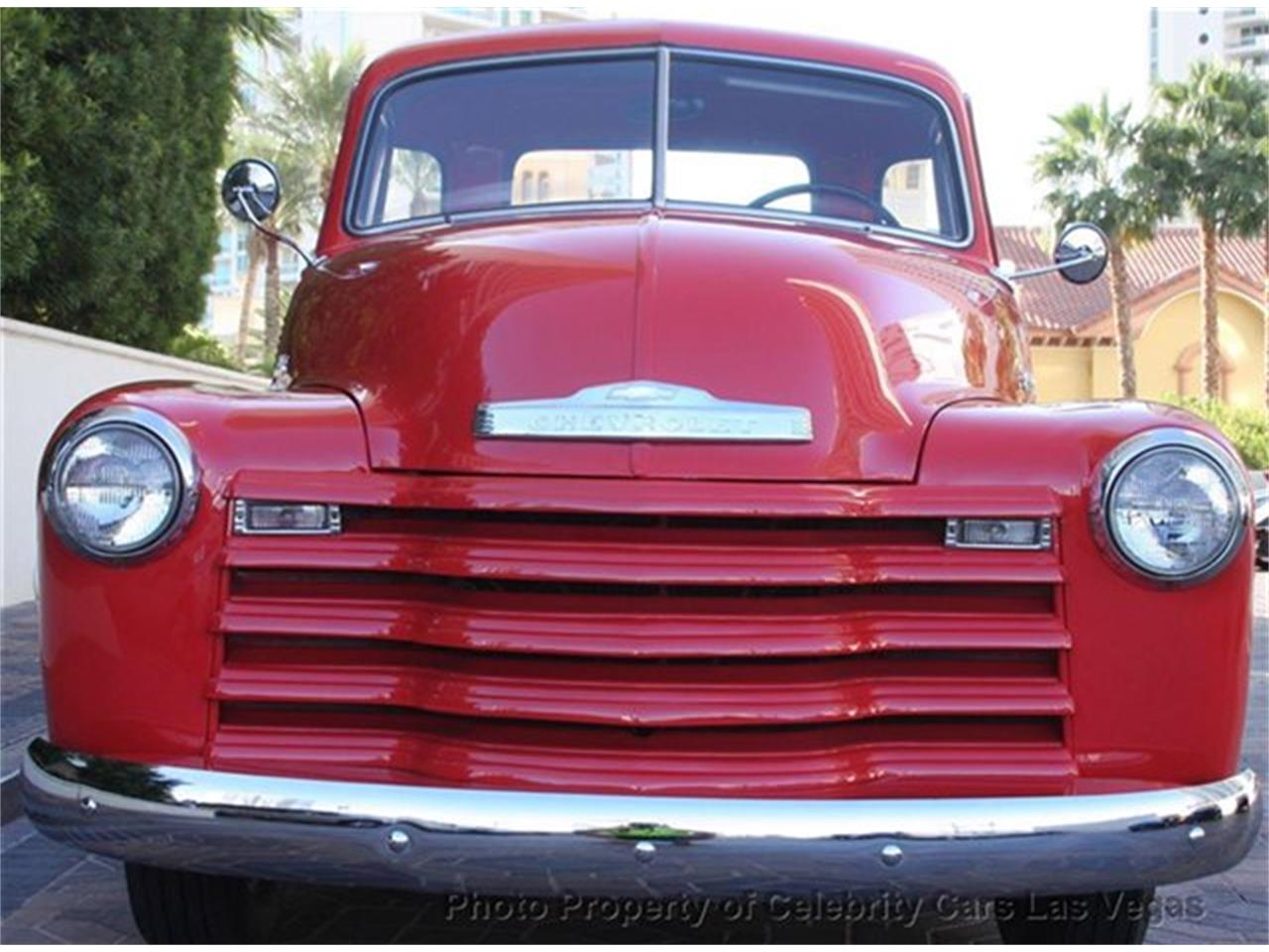 Large Picture of Classic '50 Chevrolet 3100 located in Nevada Offered by Celebrity Cars Las Vegas - CZHB