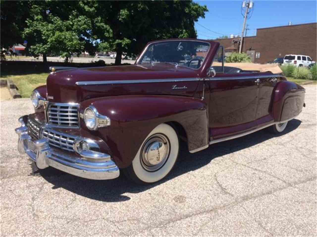 1948 Lincoln Convertible for Sale | ClassicCars.com | CC-609475
