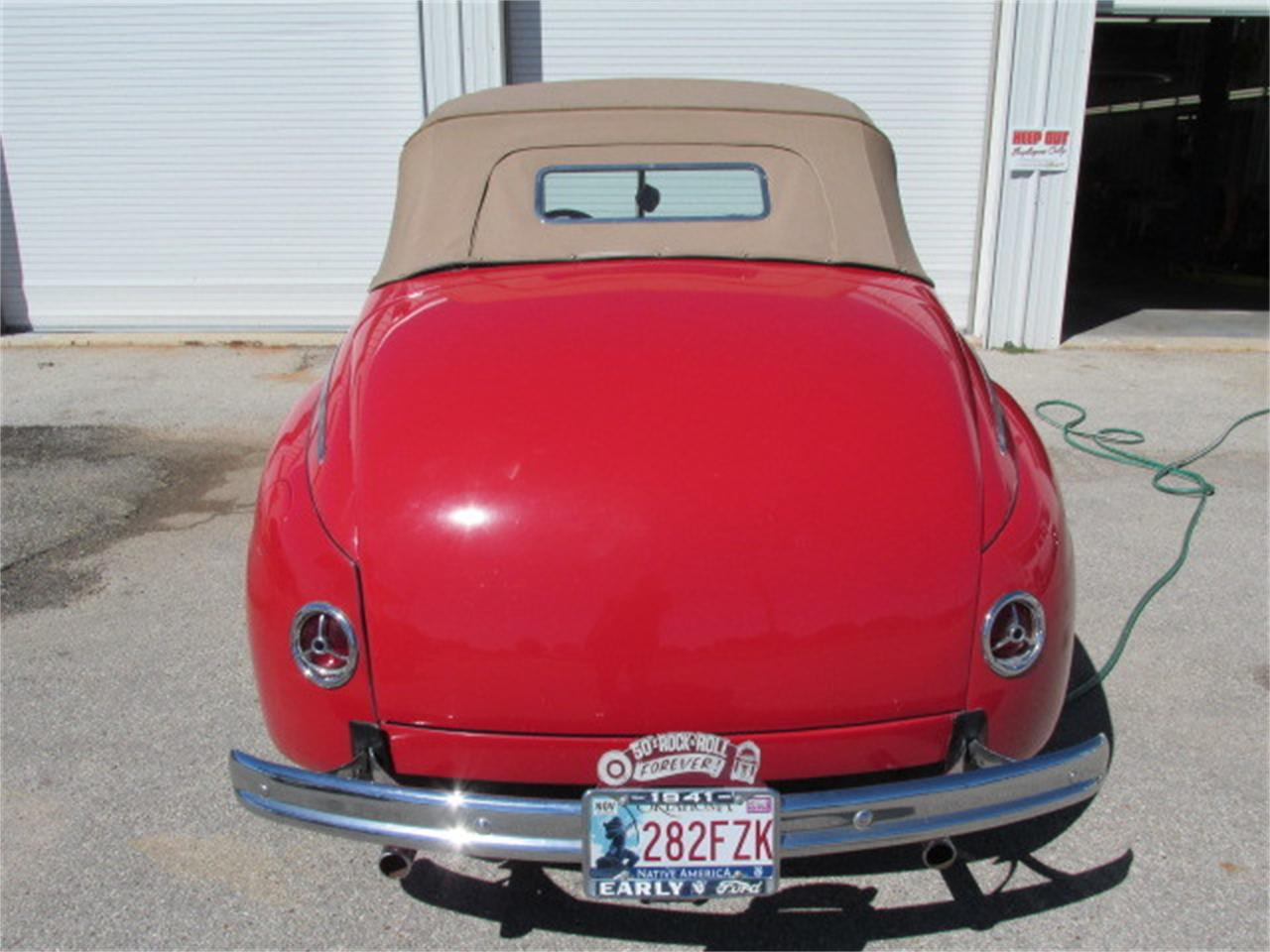 Large Picture of Classic 1941 Convertible located in Oklahoma - $36,900.00 - D62R