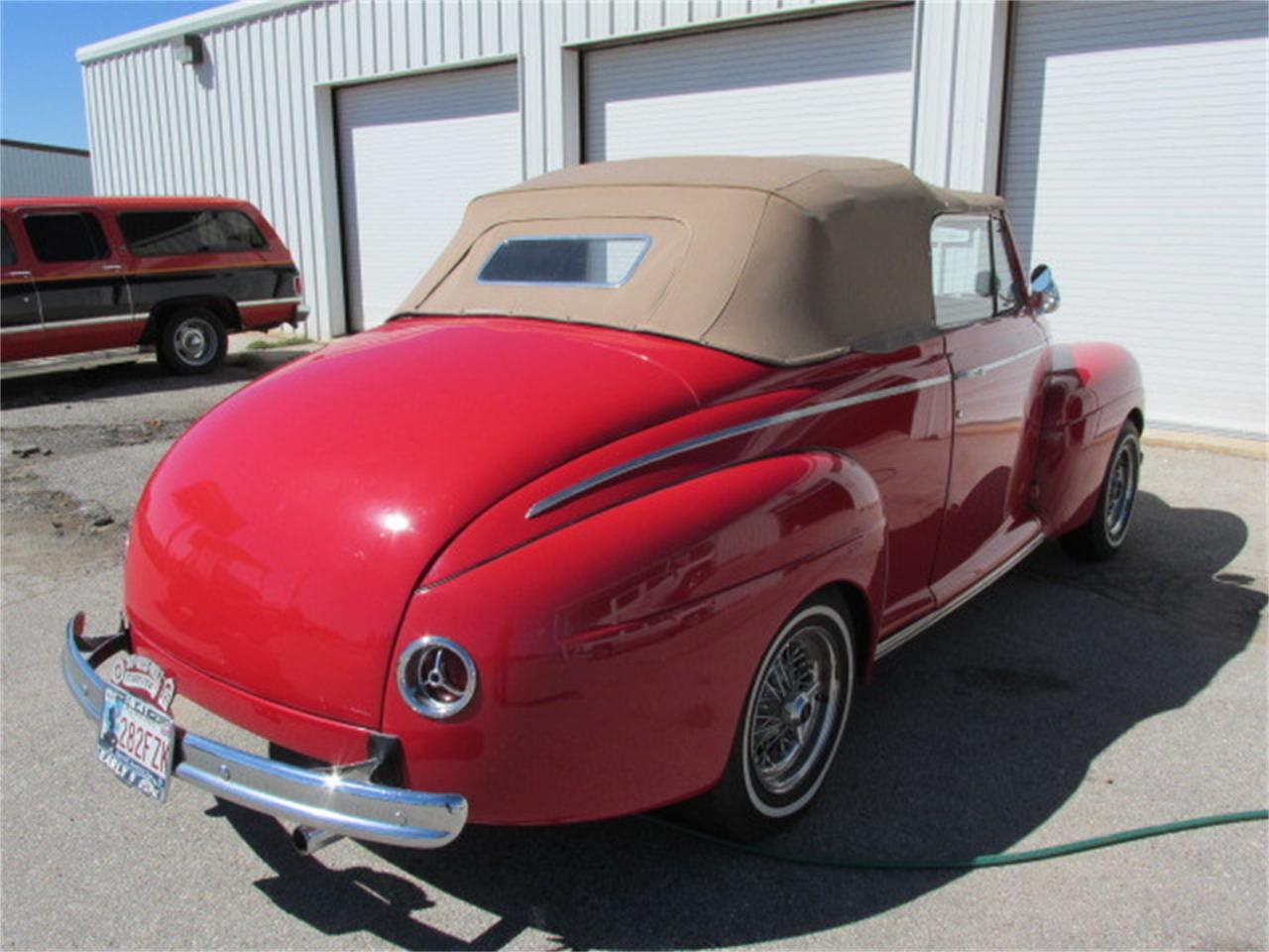 Large Picture of '41 Ford Convertible located in Oklahoma Offered by Knippelmier Classics - D62R
