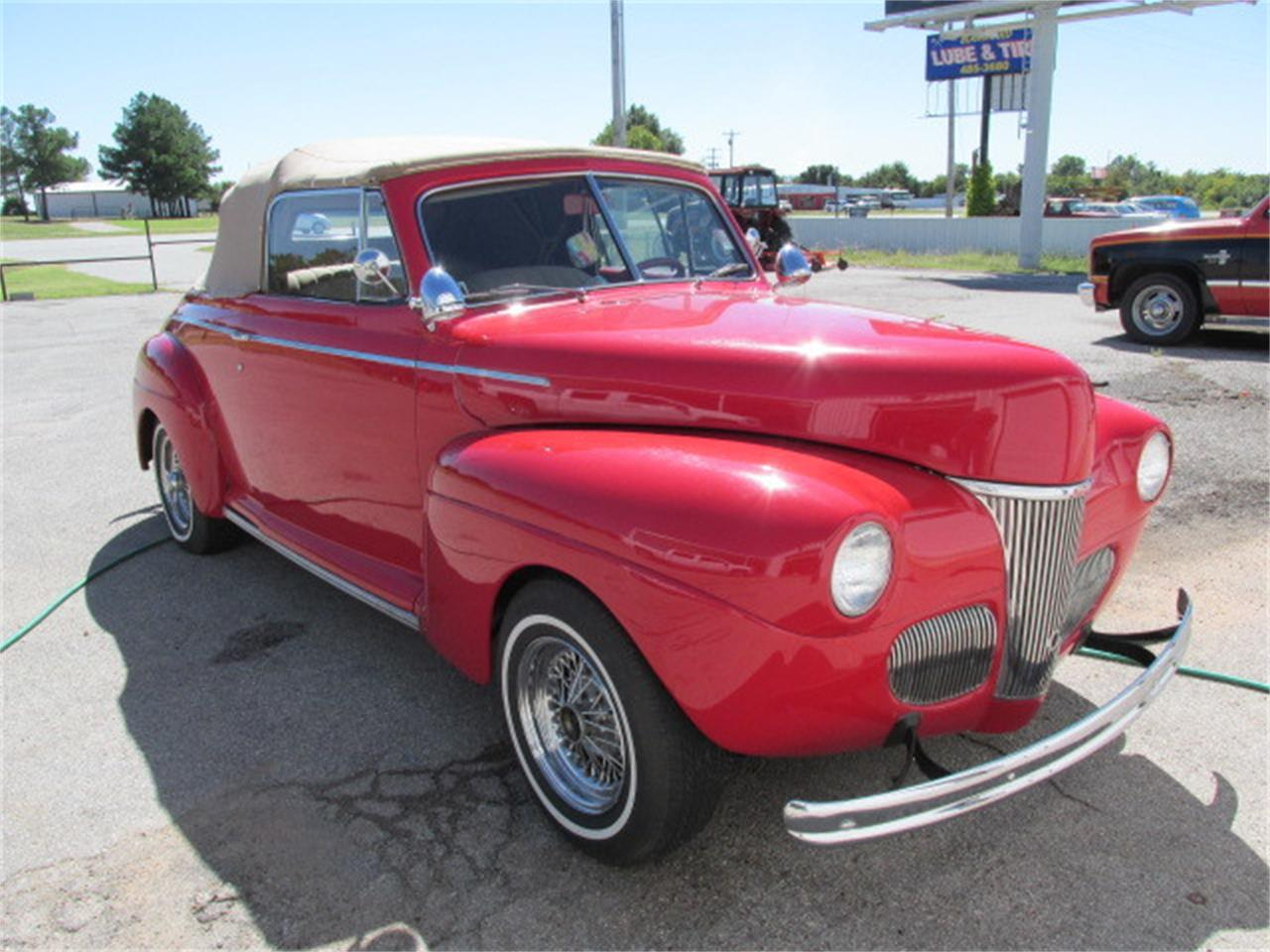 Large Picture of 1941 Convertible - $36,900.00 Offered by Knippelmier Classics - D62R