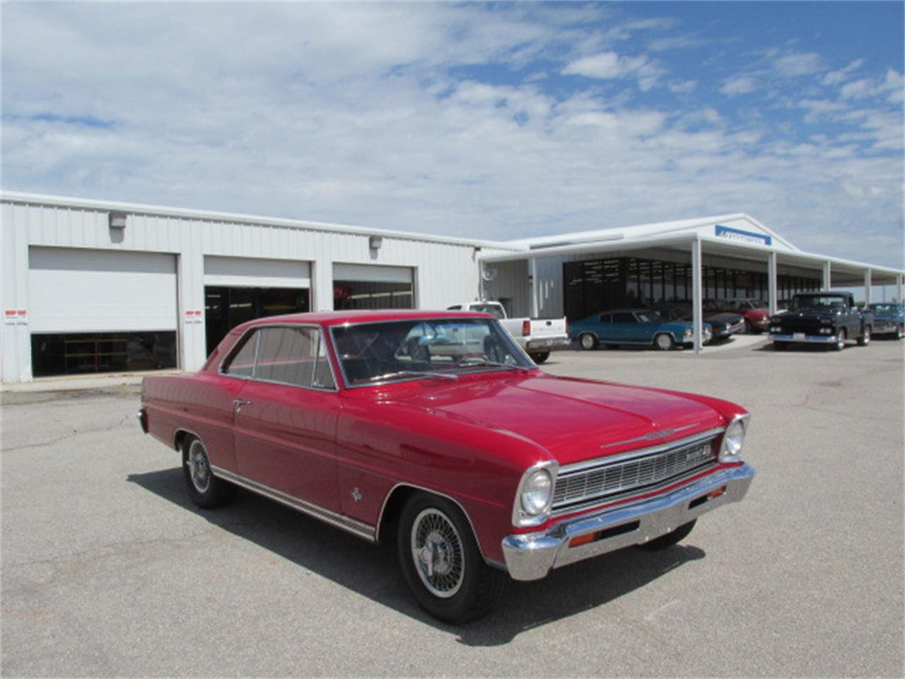 Large Picture of '66 Chevrolet Nova located in Oklahoma Offered by Knippelmier Classics - D62W