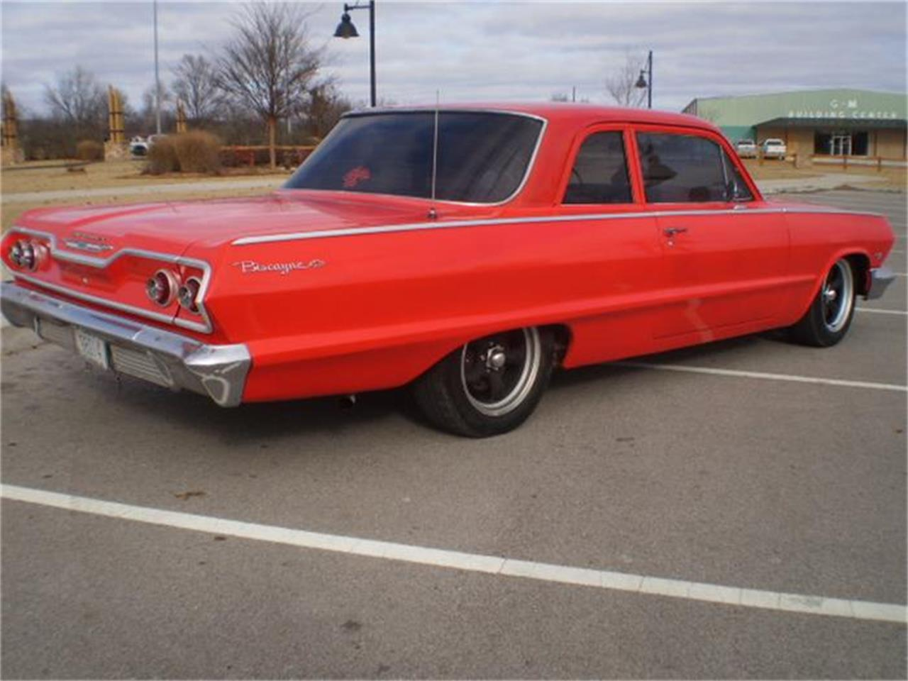 Large Picture of Classic '63 Chevrolet Biscayne Offered by Larry's Classic Cars - D6MA