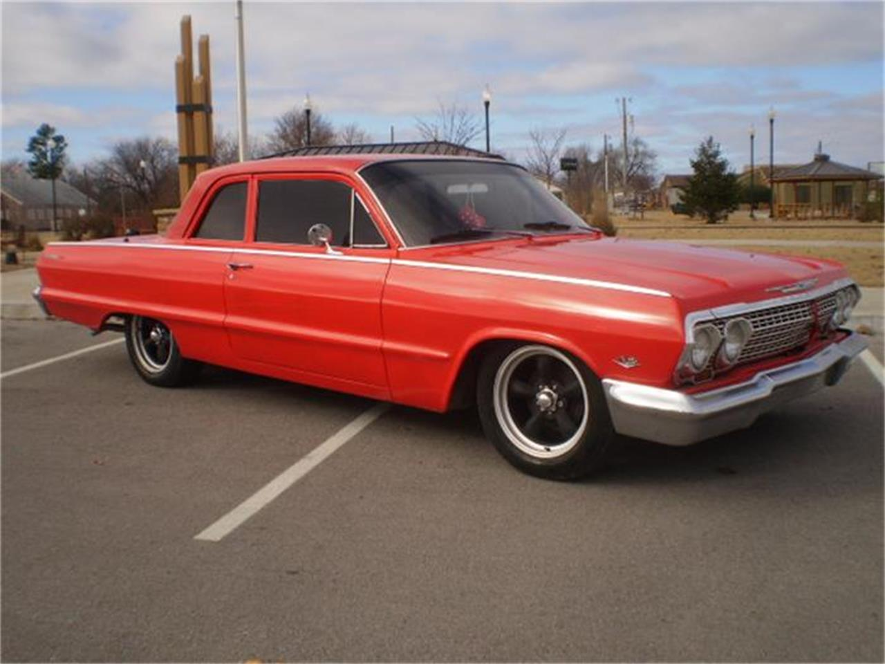 Large Picture of '63 Biscayne located in Skiatook Oklahoma Offered by Larry's Classic Cars - D6MA