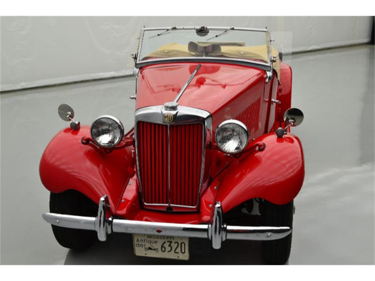 Large Picture of '53 MG TD located in North Carolina - $24,995.00 Offered by Paramount Classic Car Store - D6WS