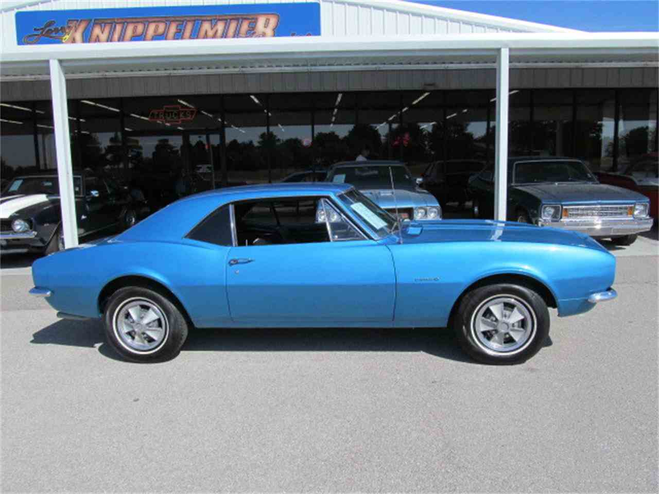 Large Picture of Classic '67 Chevrolet Camaro located in Blanchard Oklahoma Offered by Knippelmier Classics - D7BS