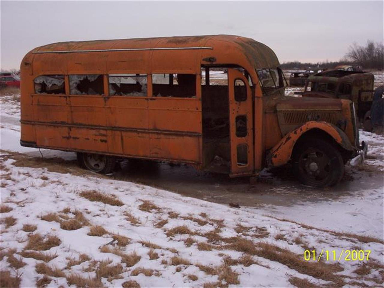 Large Picture of '37 School Bus - D9A8