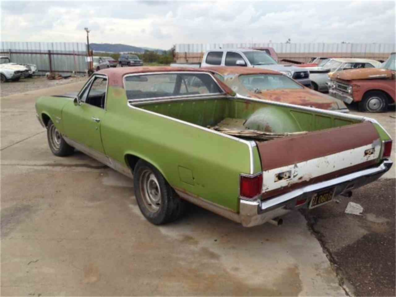 Large Picture of 1971 Chevrolet El Camino located in Phoenix Arizona Offered by Desert Valley Auto Parts - D9F4