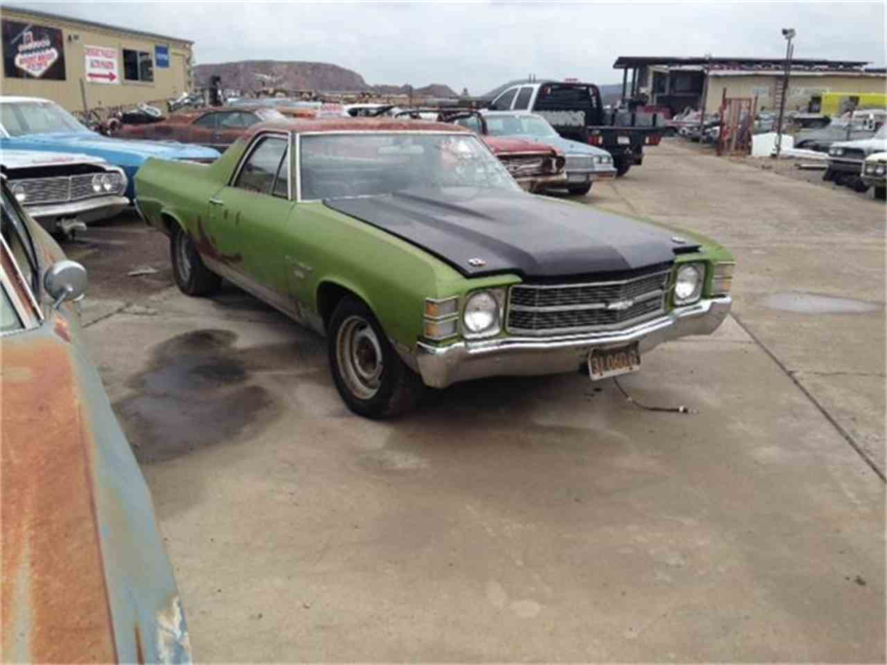 Large Picture of Classic 1971 El Camino - $4,500.00 Offered by Desert Valley Auto Parts - D9F4