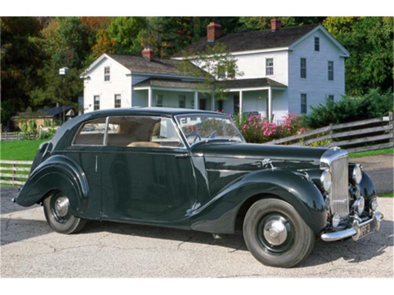 Large Picture of '48 Bentley Mark IV 2 door James Young Coupe - $54,900.00 - D9XP