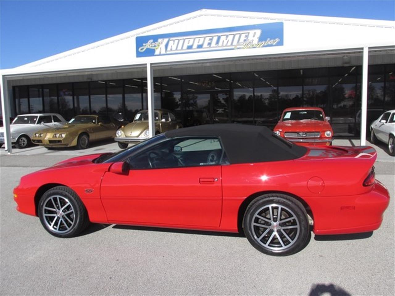 Large Picture of 2002 Chevrolet Camaro Offered by Knippelmier Classics - DA4T