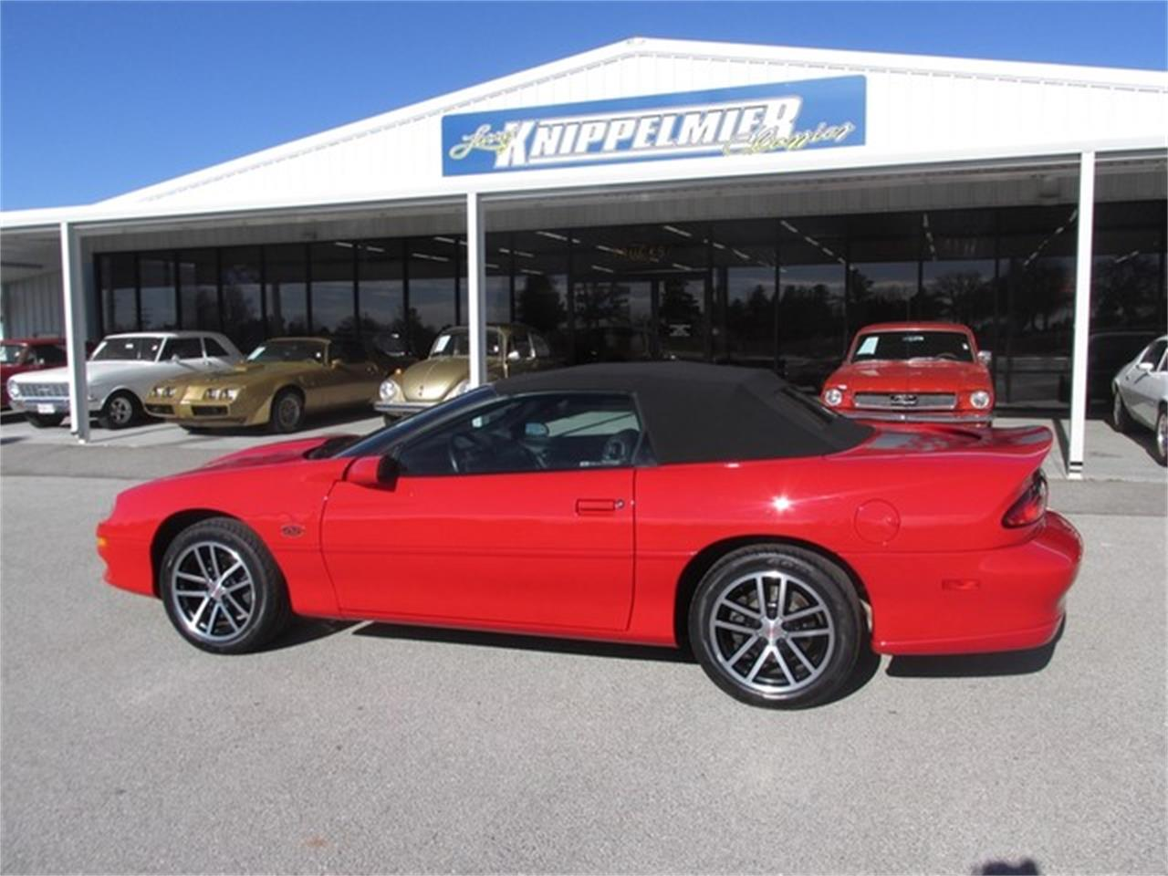 Large Picture of 2002 Chevrolet Camaro located in Oklahoma - $29,000.00 Offered by Knippelmier Classics - DA4T