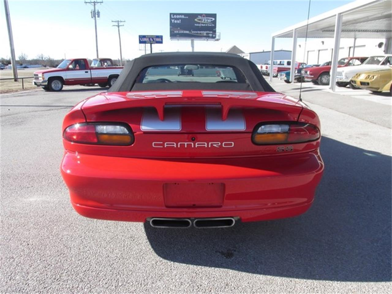 Large Picture of '02 Chevrolet Camaro located in Oklahoma Offered by Knippelmier Classics - DA4T