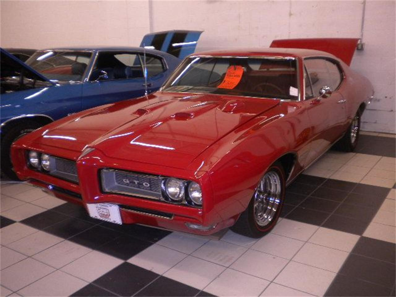 Large Picture of '68 Pontiac GTO located in Annandale Minnesota - $52,500.00 Offered by Classic Rides and Rods - DCA6