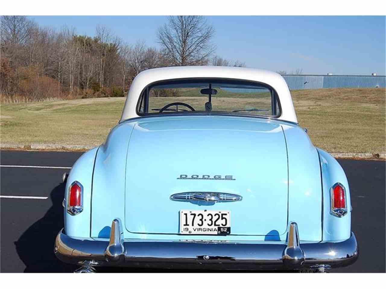 Auto For Sale Fredericksburg Va: 1952 Dodge Wayfarer For Sale