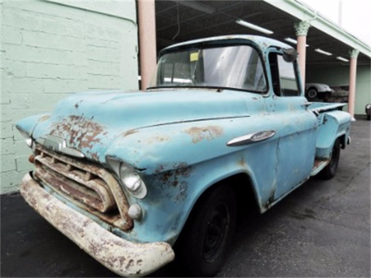Large Picture of Classic '57 Chevrolet Pickup located in Miami Florida - DGHS