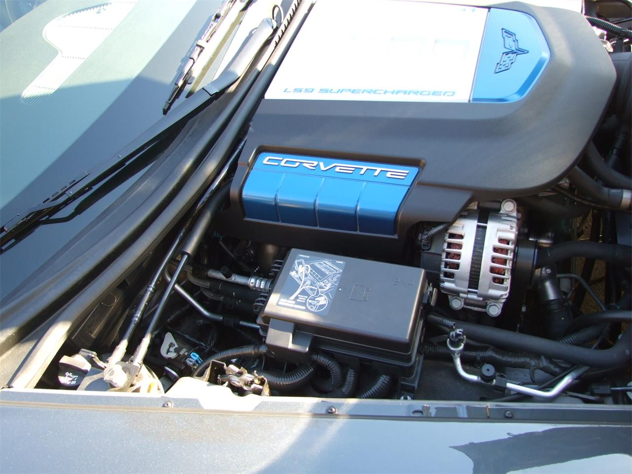 Large Picture of '09 Chevrolet Corvette ZR1 located in Ohio - DJBI