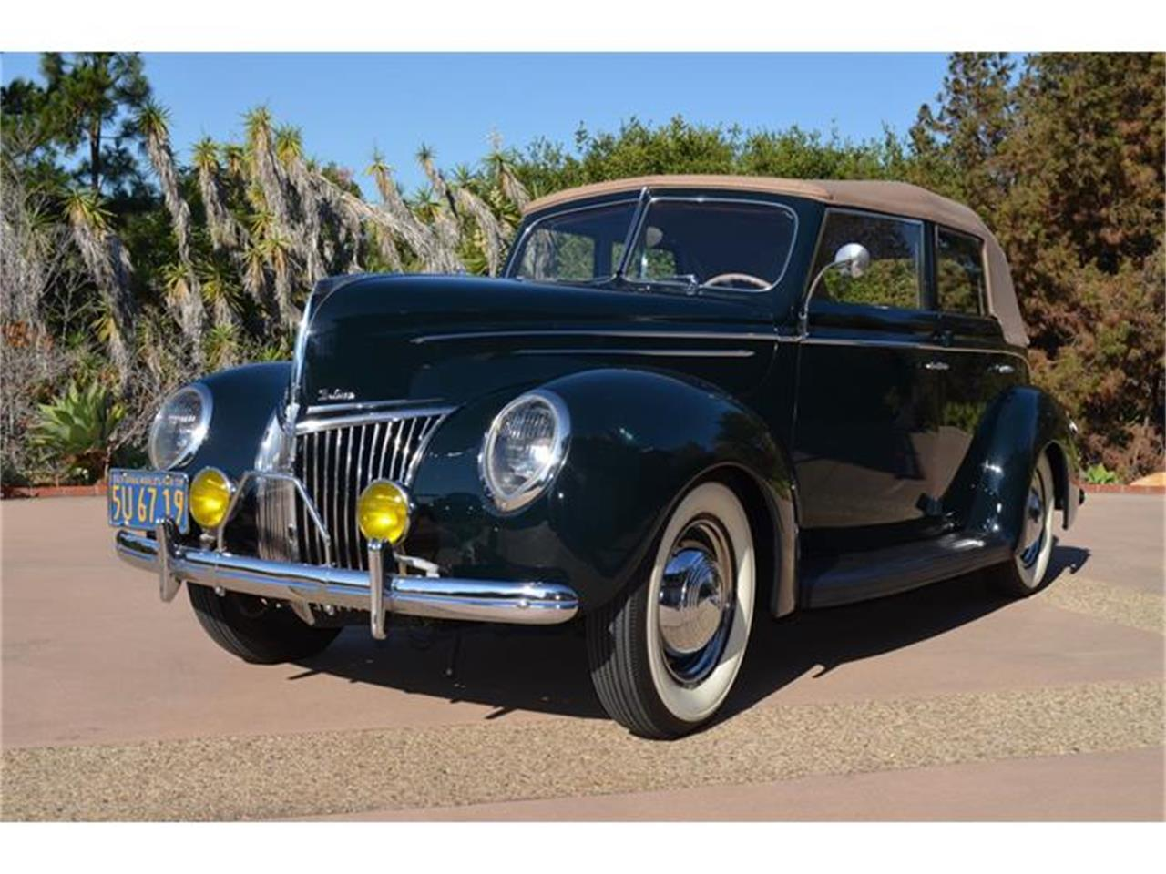 Large Picture of '39 Ford Deluxe located in Santa Ynez California - $55,000.00 - DLUY