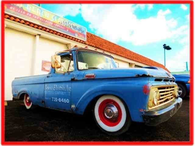 1963 Ford Pickup For Sale On Classiccars Com