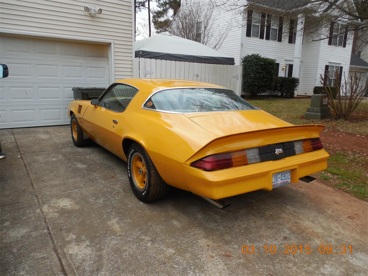 Large Picture of '78 Chevrolet Camaro Z28 - DP4O