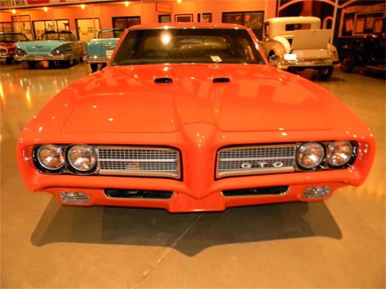Large Picture of Classic 1969 Pontiac GTO located in Iowa Offered by Okoboji Classic Cars LLC  - DPI0