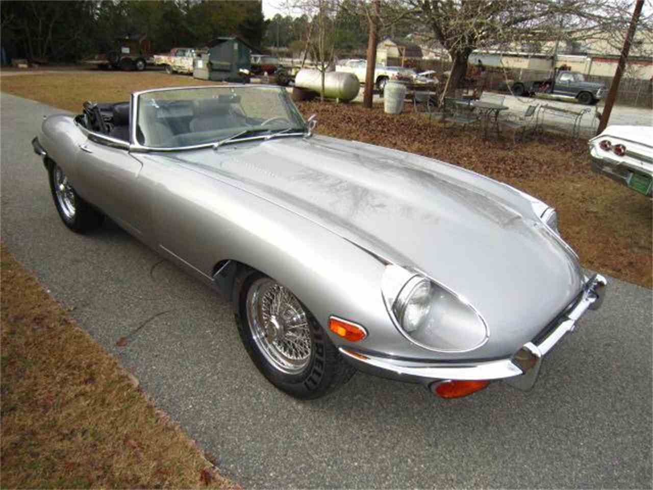 Large Picture of '70 Jaguar XKE Auction Vehicle Offered by Auto Quest Investment Cars - DRHW