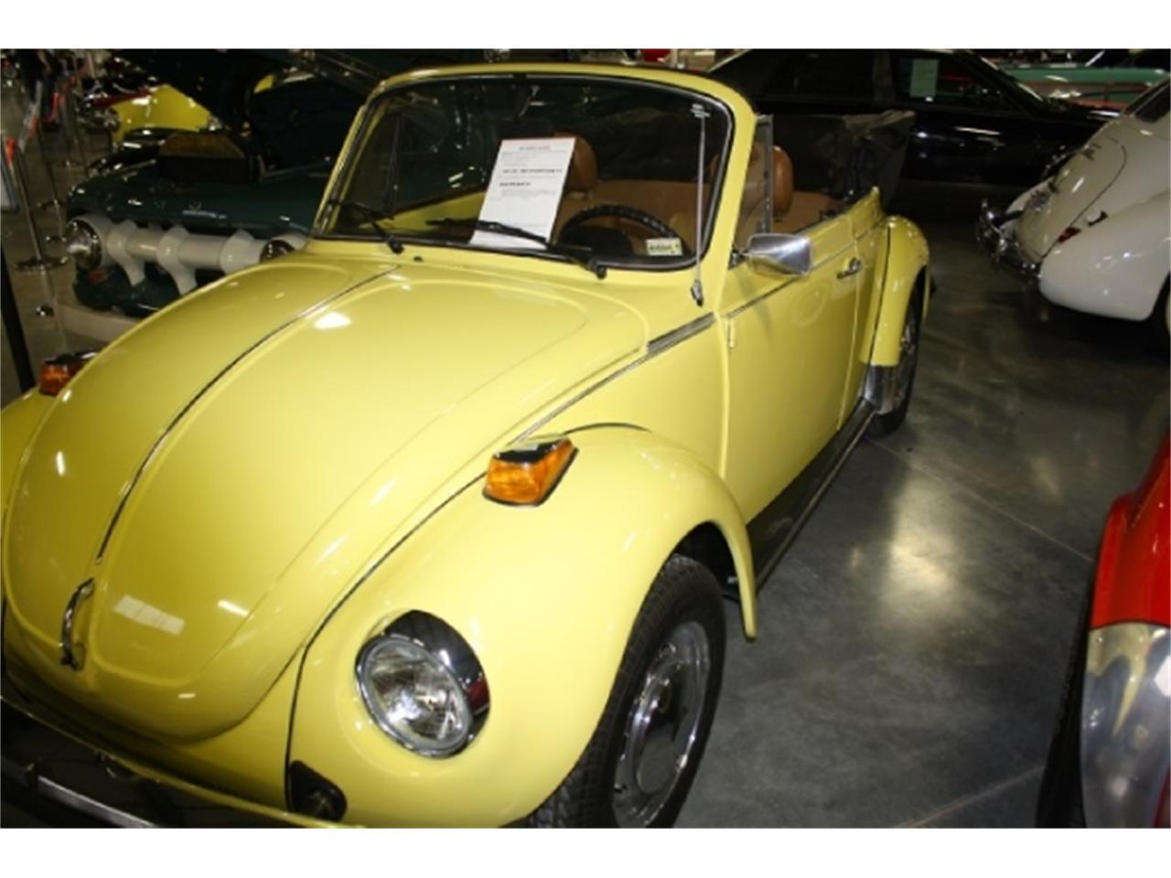 Large Picture of '79 Volkswagen Super Beetle located in Branson Missouri Offered by Branson Auto & Farm Museum - DSCK