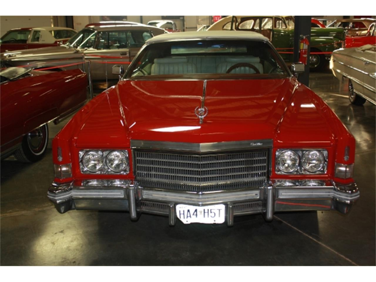 Large Picture of '74 Cadillac Eldorado Offered by Branson Auto & Farm Museum - DSCQ