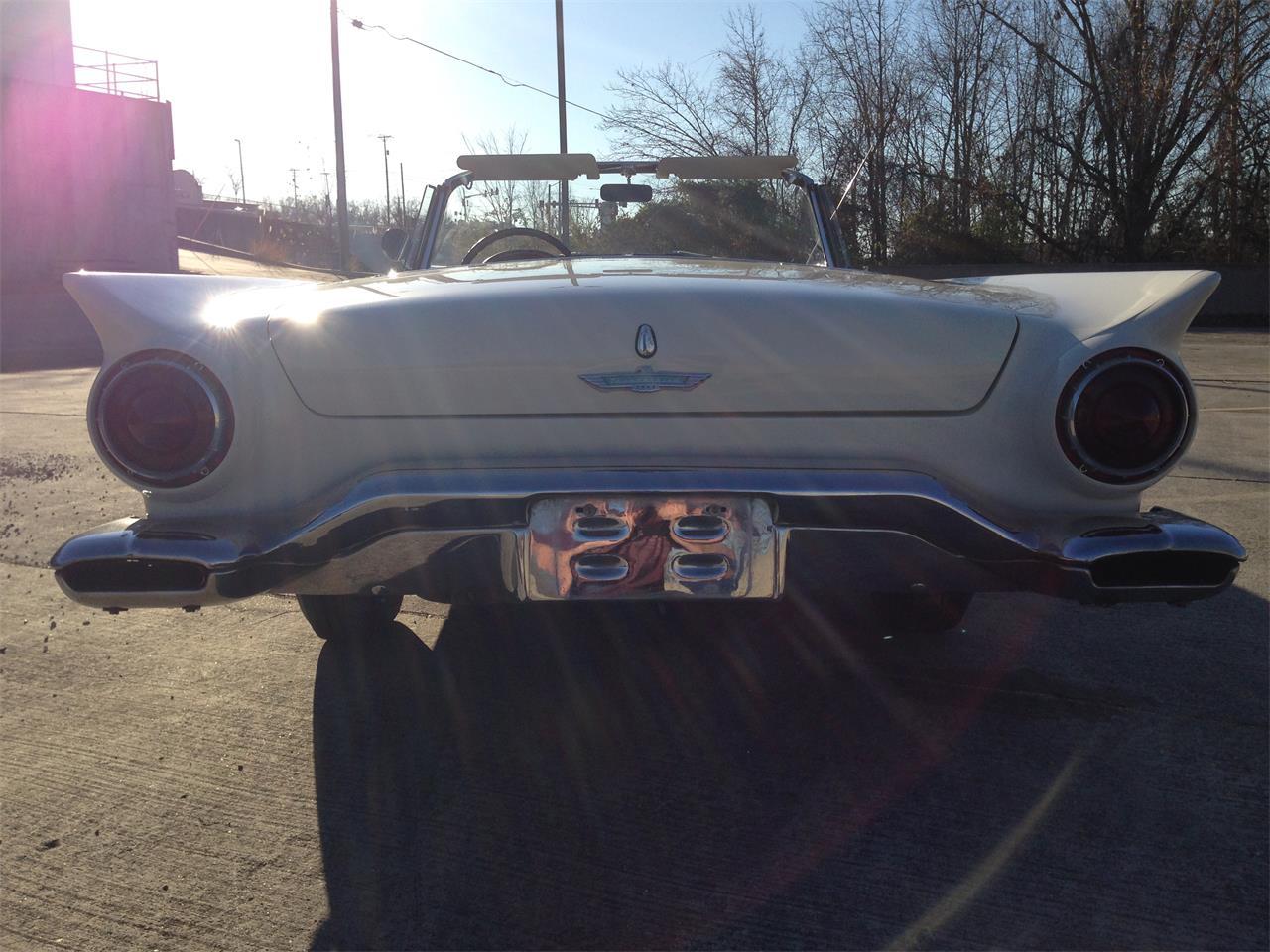Large Picture of Classic 1957 Ford Thunderbird located in Branson Missouri Offered by Branson Auto & Farm Museum - DSDJ