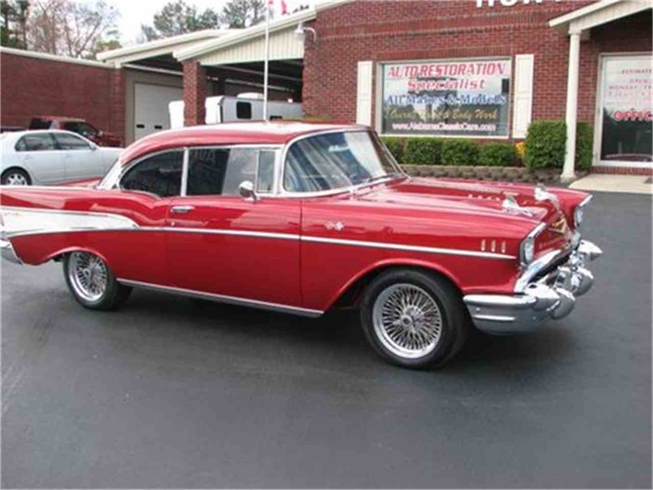 Large Picture of '57 Chevrolet Bel Air located in Florence Alabama Offered by Hunt's Auto Restoration - DSSA