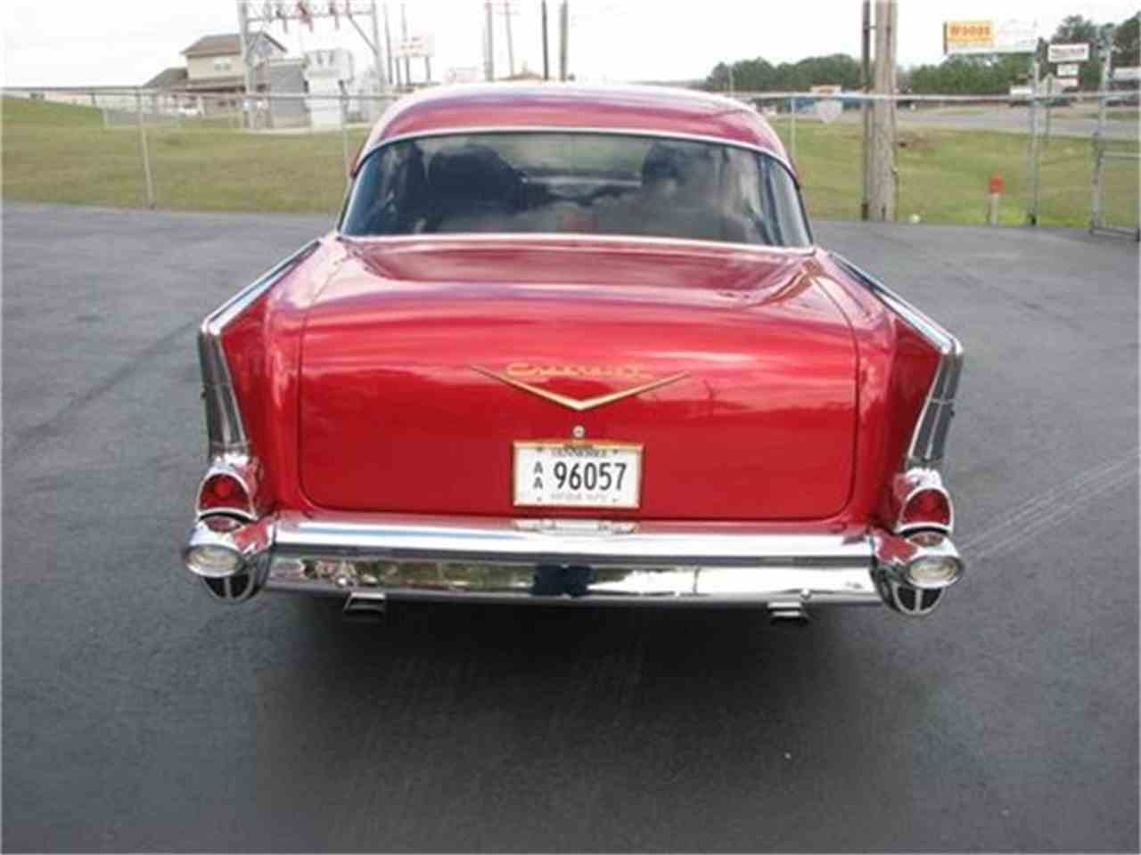 Large Picture of Classic 1957 Chevrolet Bel Air Auction Vehicle Offered by Hunt's Auto Restoration - DSSA