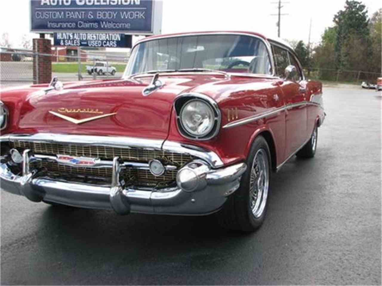 Large Picture of '57 Bel Air Offered by Hunt's Auto Restoration - DSSA