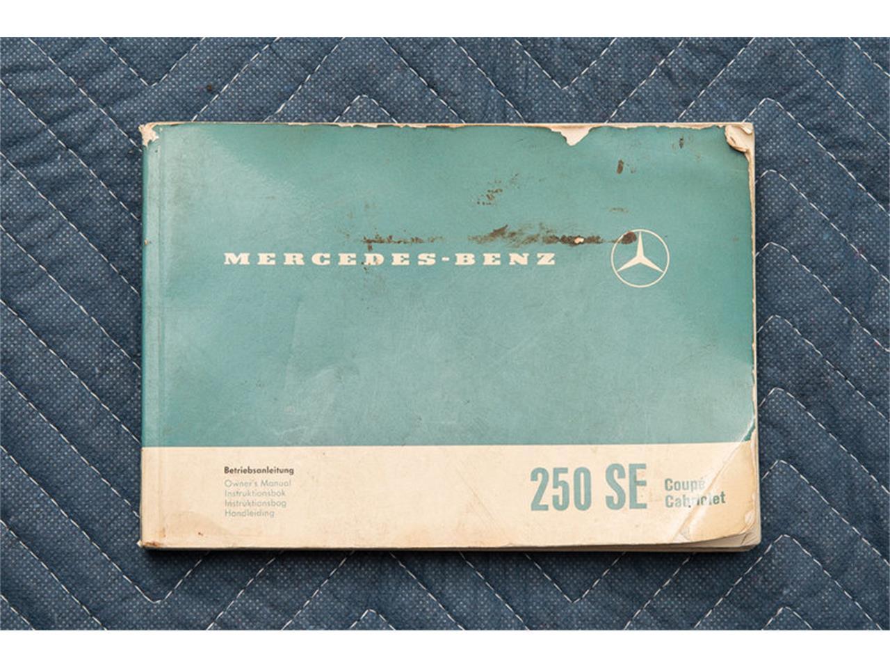 Large Picture of '66 Mercedes-Benz 250SE Auction Vehicle - DSVZ