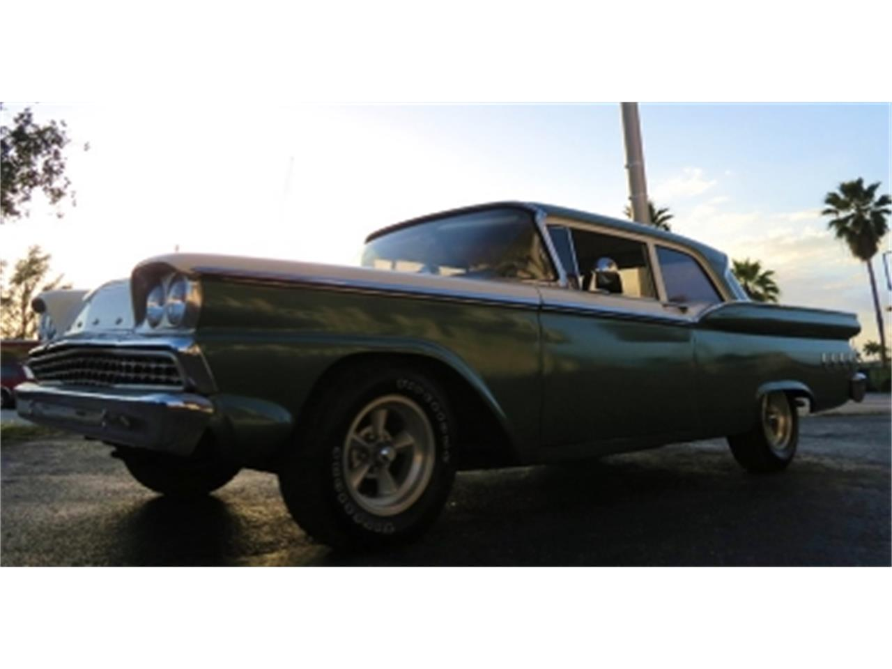 Large Picture of 1959 Ford 2-Dr Coupe located in Florida - $12,500.00 Offered by Sobe Classics - DTFP