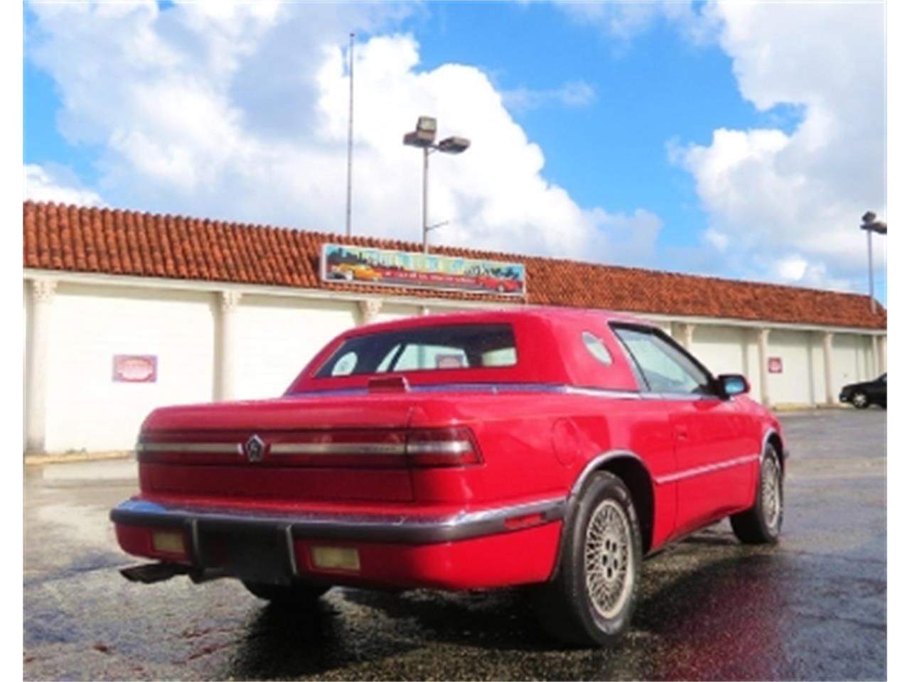 Large Picture of '89 Chrysler TC by Maserati - $7,500.00 Offered by Sobe Classics - DTQ6