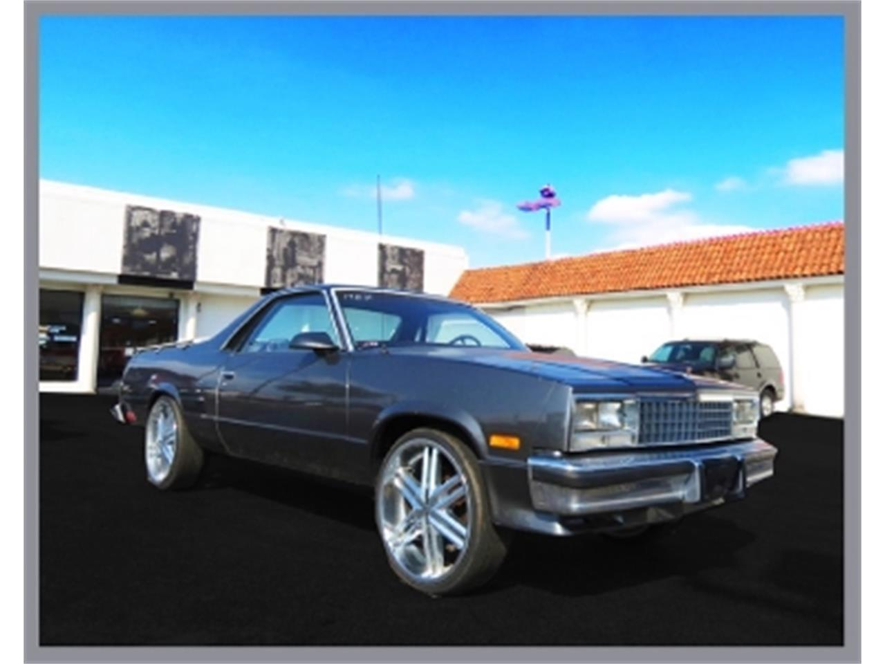 Large Picture of 1987 Chevrolet El Camino - $12,500.00 Offered by Sobe Classics - DQBF