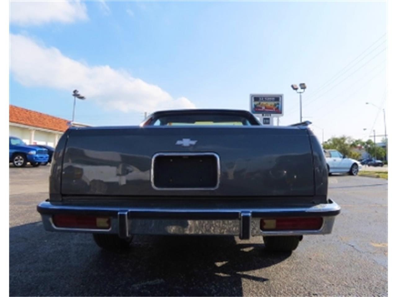 Large Picture of '87 El Camino located in Miami Florida Offered by Sobe Classics - DQBF