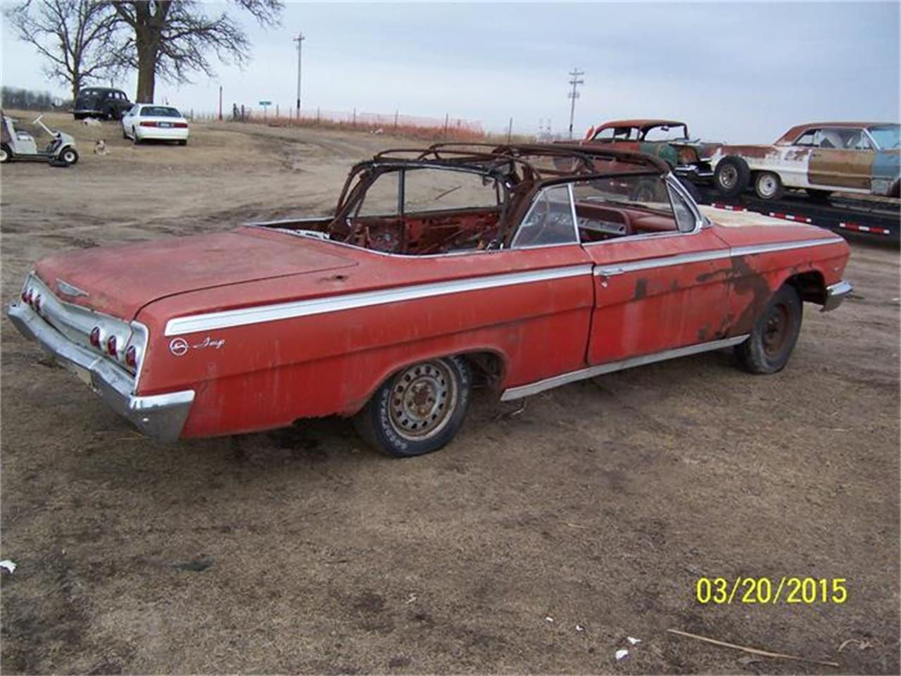 Large Picture of 1962 Chevrolet Impala located in Parkers Prairie Minnesota - $6,500.00 Offered by Dan's Old Cars - DW9C