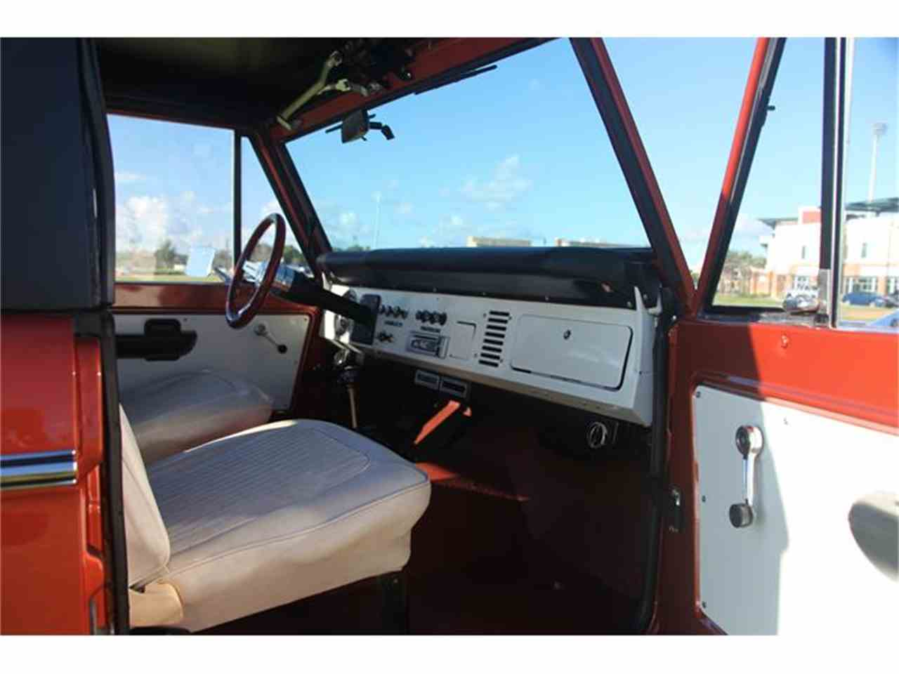 Large Picture of 1973 Ford Bronco located in Florida Offered by Velocity Restorations - DQJA